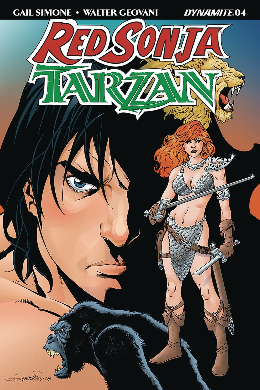 Red Sonja Tarzan #4
