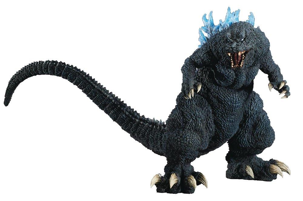 Gigantic Godzilla Blue dorsal fin 2001
