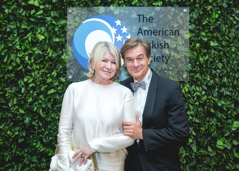 Martha Stewart and Dr. Mehmet Oz