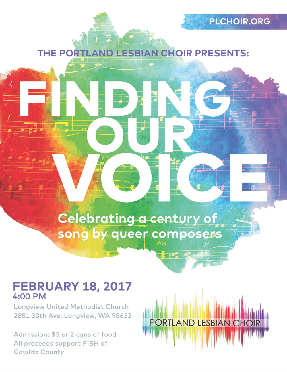 FINDING OUR VOICE - FEBRUARY 2017
