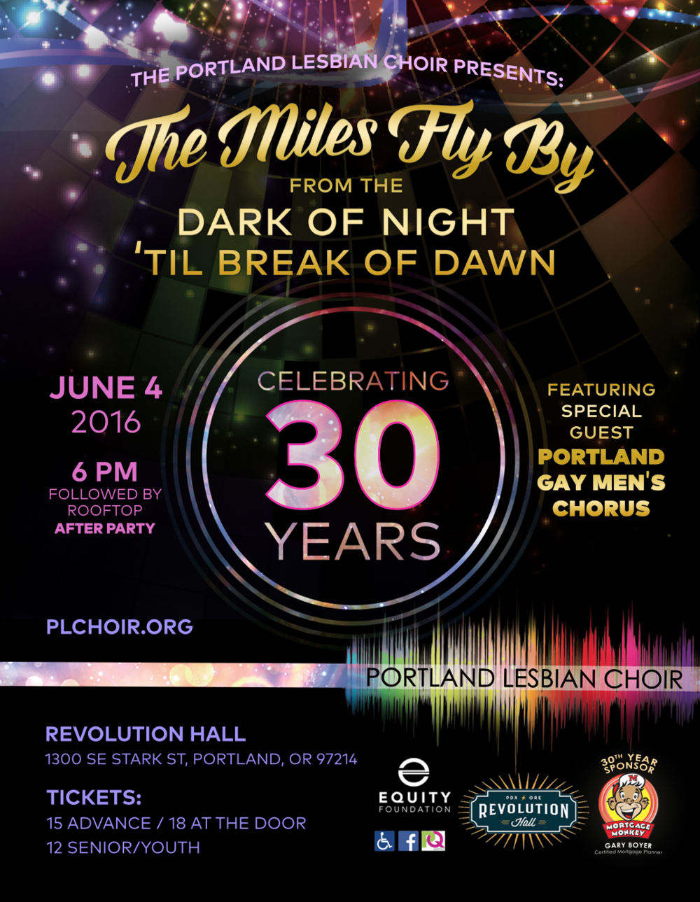 THE MILES FLY BY - JUNE 2016