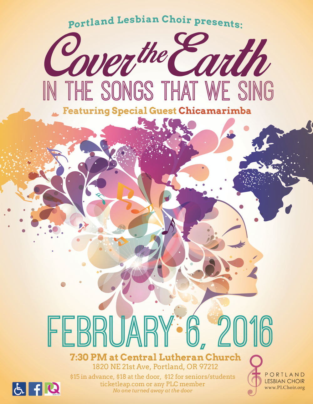COVER THE EARTH - FEBRUARY 2016