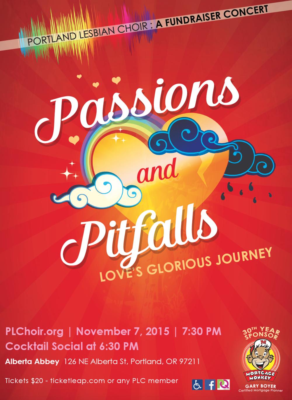 PASSIONS & PITFALLS - NOVEMBER 2015