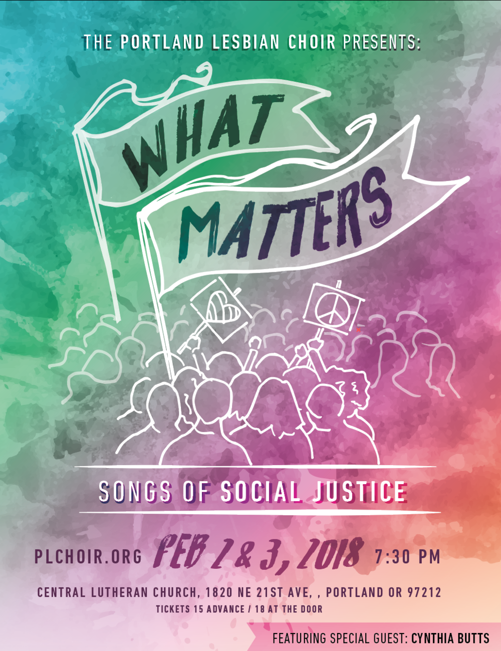 WHAT MATTERS - FEBRUARY 2018