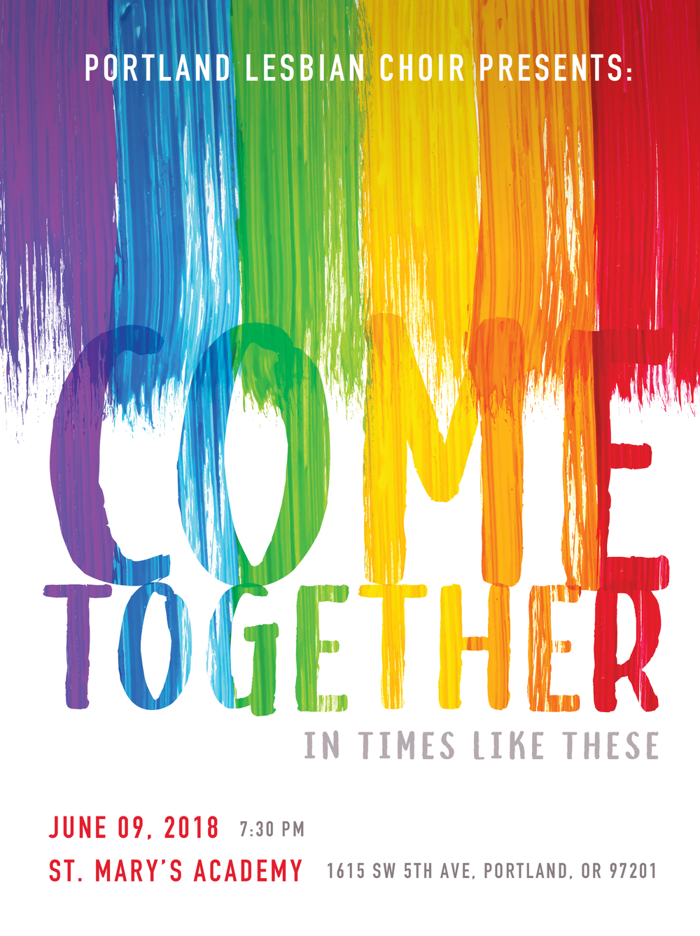 COME TOGETHER - JUNE 9, 2018CONCERT INFO & TICKETS