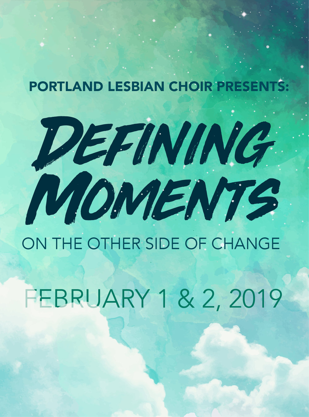 DEFINING MOMENTS - FEBRUARY 2019