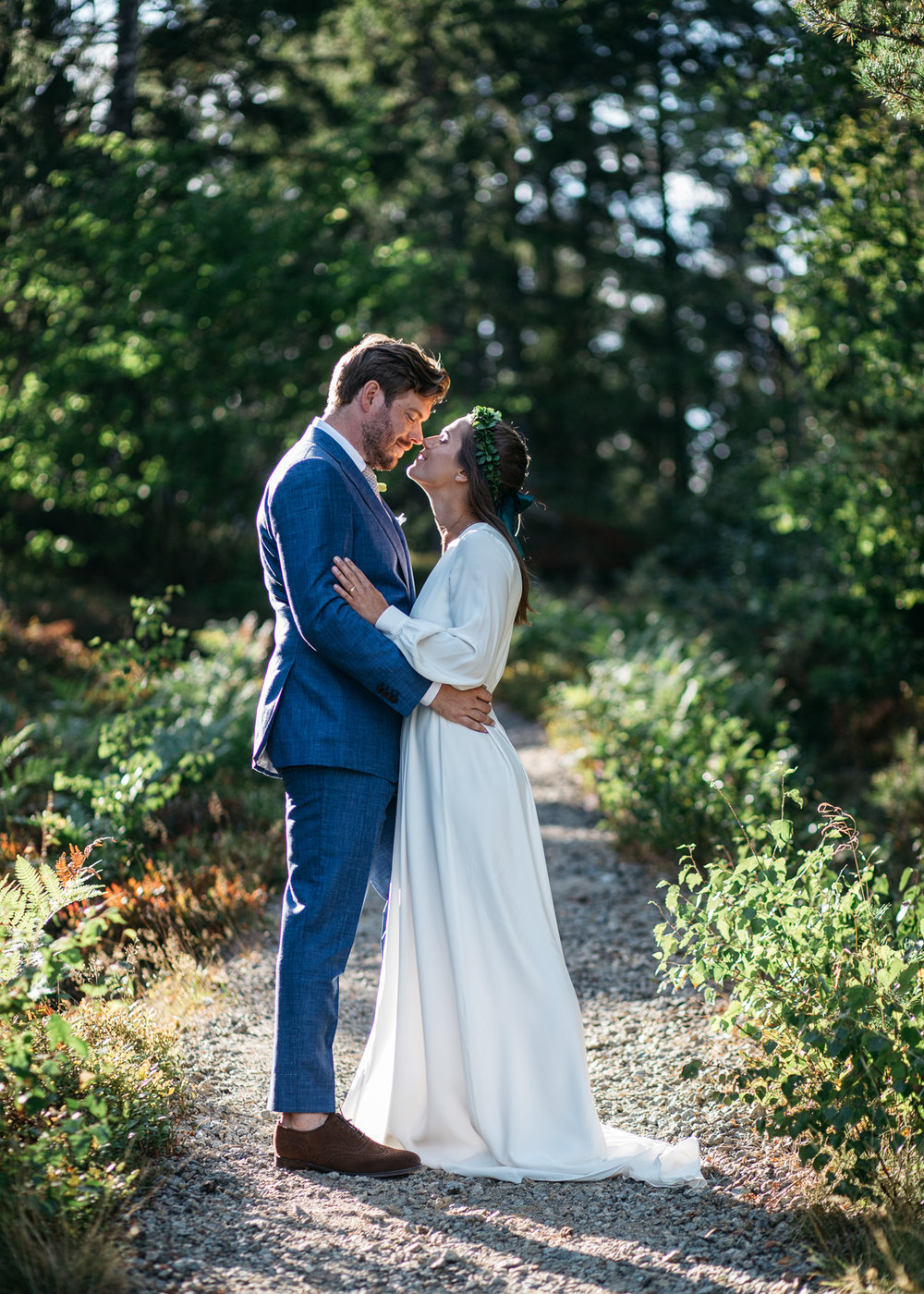 "in her own words… - ""Mathias proposed to me two years ago at our summer house in the Swedish archipelago, Muskö. The same house we had the pleasure of holding this wedding. Our entire family was there the day he proposed, so the evening became a little family party. It could not have been more perfect."""