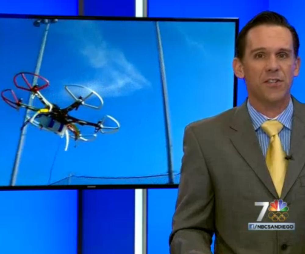 Click for NBC7 news segment on The Hydrone.
