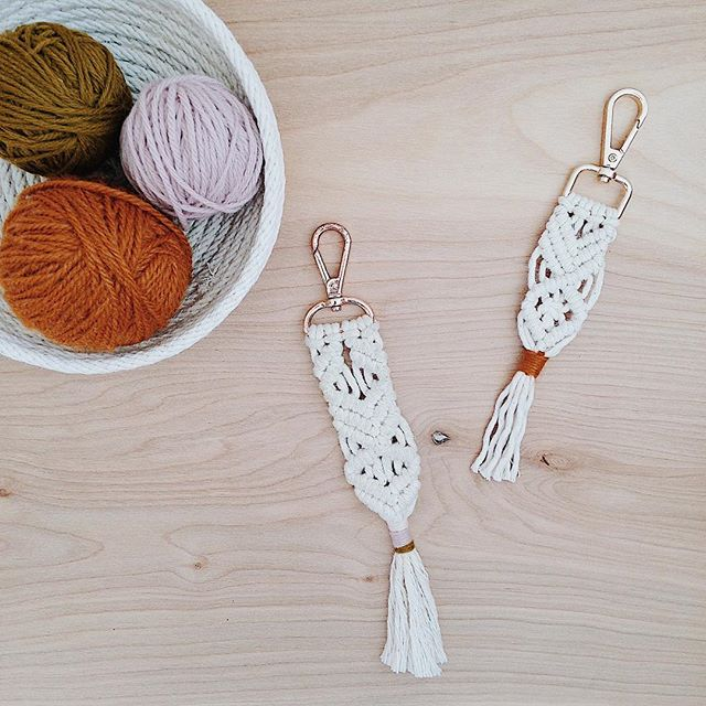 There are still a few spots left for our $25 Macrame Keychain Workshop on Saturday, March 31st! Hope to see you there! ✨