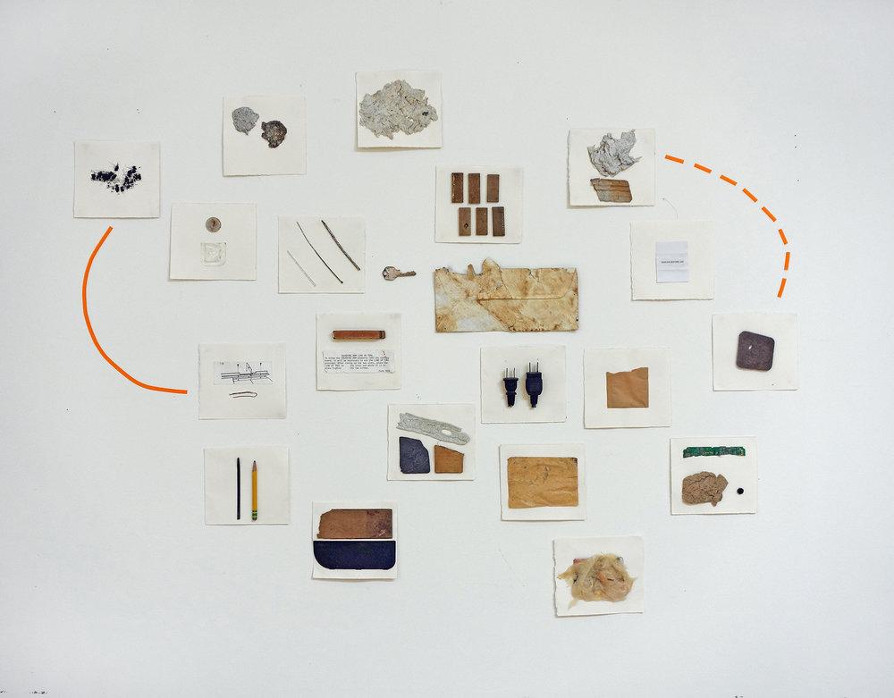 Study for Feynman exhibition
