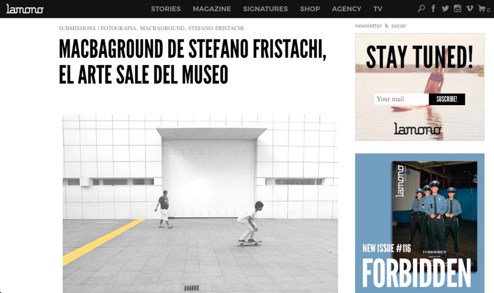 MACBAGROUND - http://lamonomagazine.com/macbaground-de-stefano-fristachi-el-arte-sale-del-museo/