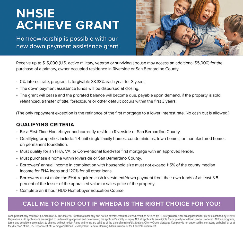 Down Payment Assistance - CA - NHSIE Achieve Grant - Email.jpg