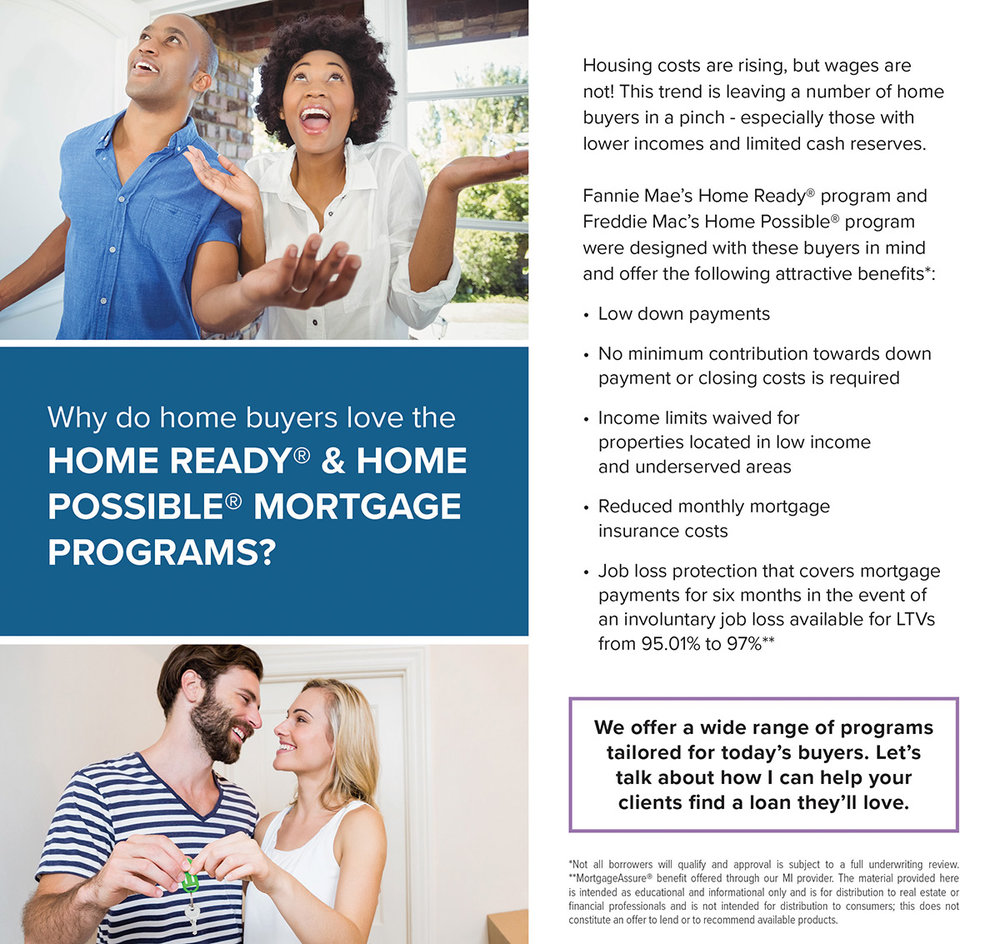 Low Down Payment - Referral Only - Home Possible and Home Ready - ActOn.jpg