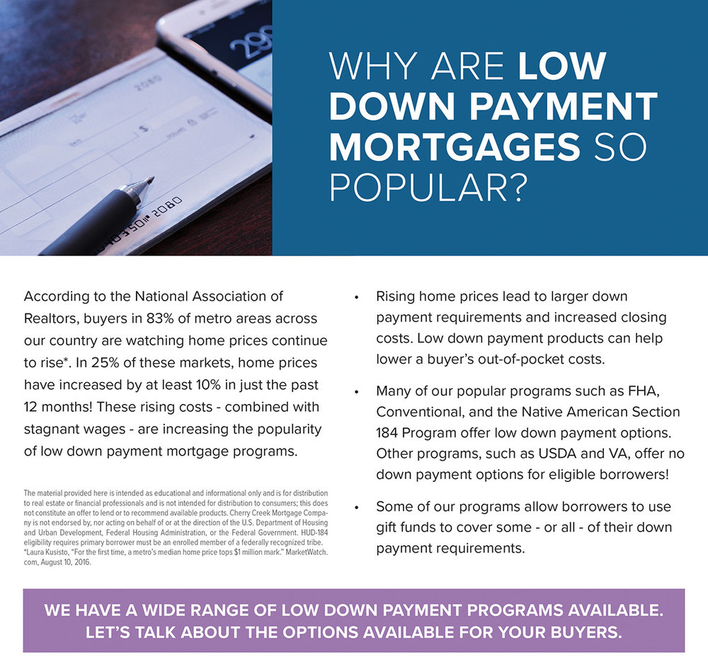 Low Down Payment - Referral Only - Why are Low Down Programs Popular - ActOn.jpg