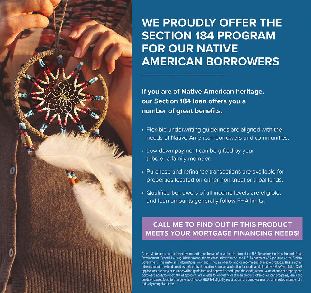 Mortgage Products - HUD 184 - Native American Loan.jpg