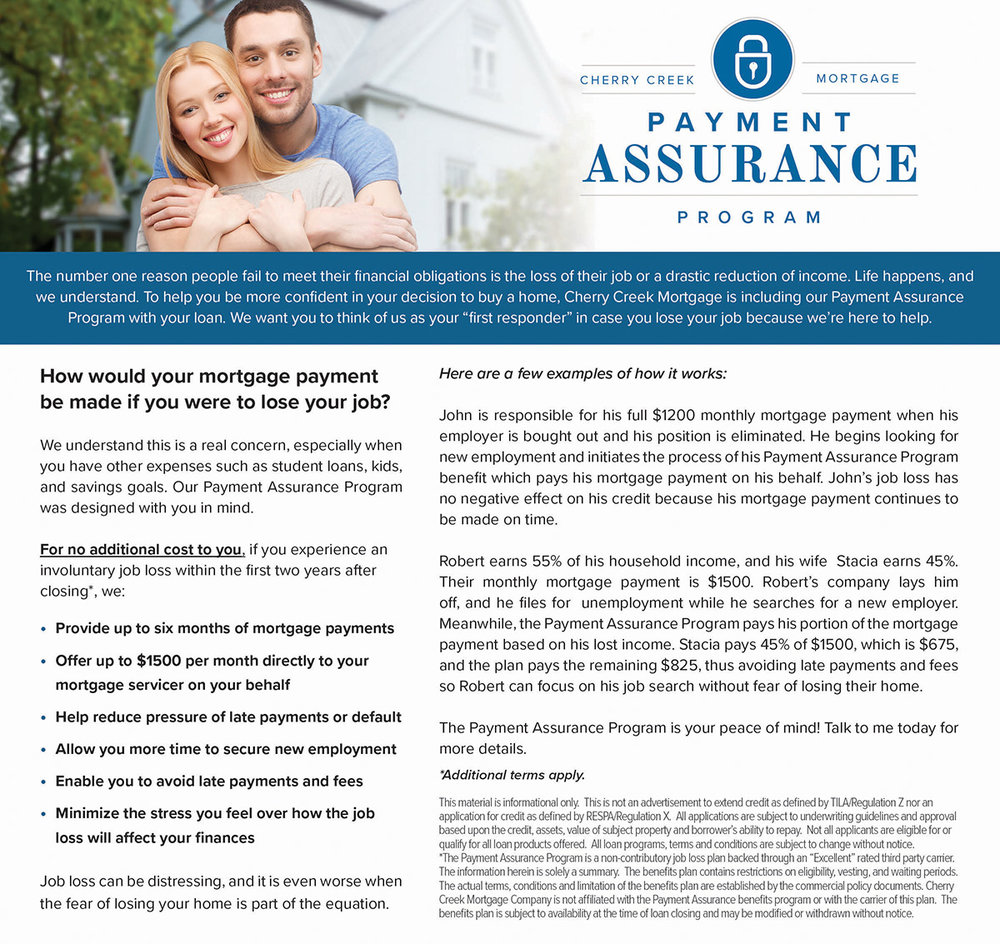 Mortgage Products - Payment Assurance Program - ActOn.jpg