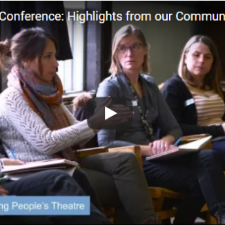 "Arts Education and Community Arts Video: Feb 10, 2016 Conference WATCH: This video features highlights of our Feb 10, 2017 Conference exploring ""community arts"" and ""arts education"". What are the differences? Where and how do they intersect? While the terms are often interchanged, each practice is characterized by unique approaches, methodologies, and goals. How can we examine these distinct practices, so that we can move forward authentically in our programming and strengthen the focus of our work"