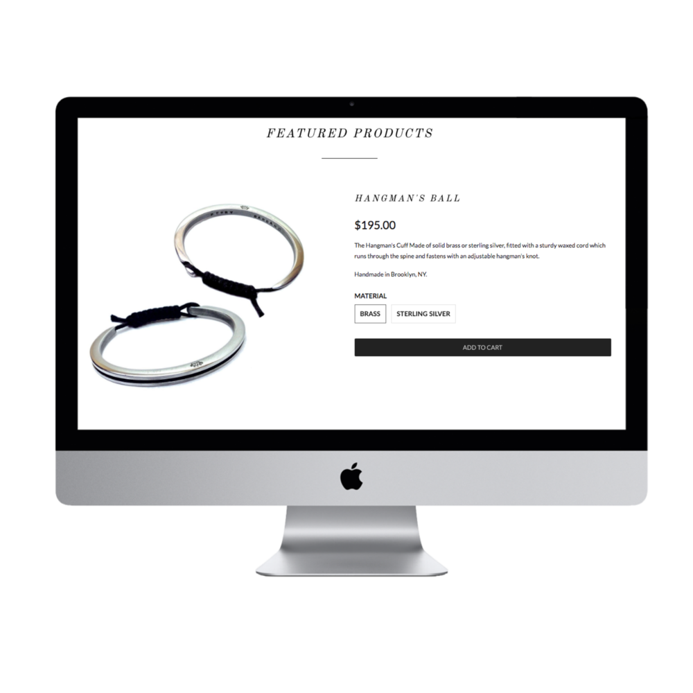 Fashion & Design - Jewelry eCommerce
