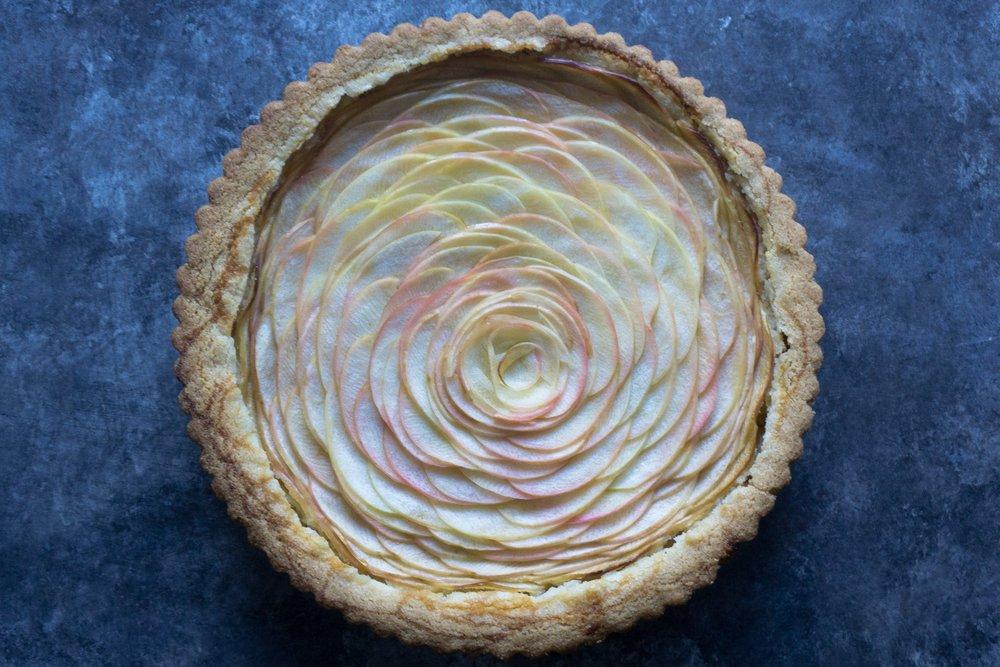 Apple-Almond Tart