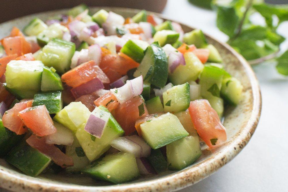 Shirazi Salad