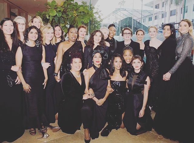 so many beauties 🖤✨🖤✨🖤 #timesup