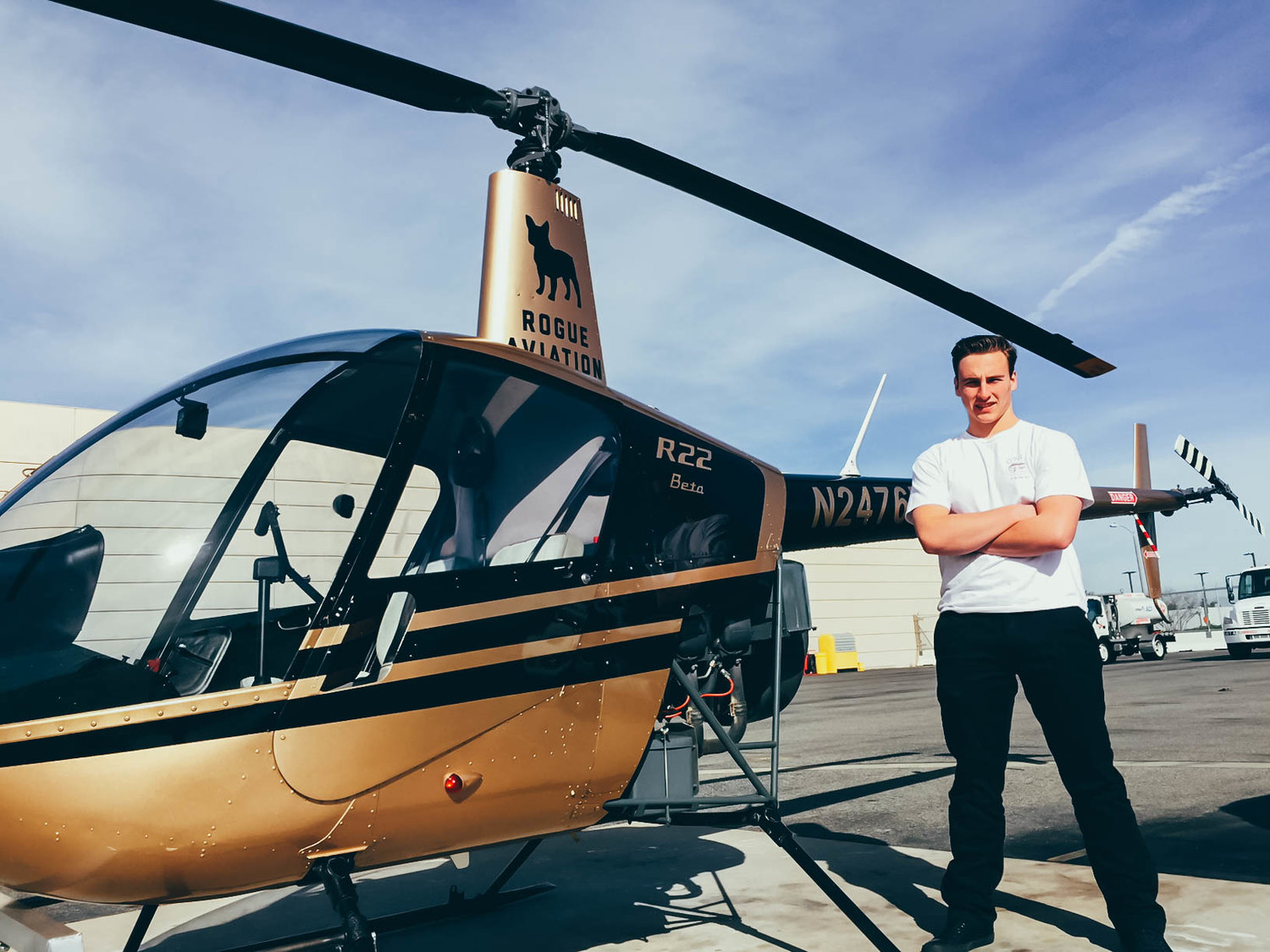 Pilot-in-Training Profile: David Anastasia — Rogue Aviation