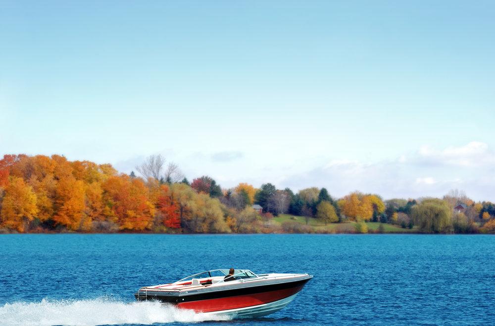 speedboat on lake.jpeg