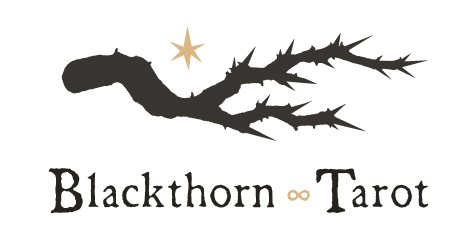 Blackthorn Tarot Logo  Logo for a personal project that I've been developing