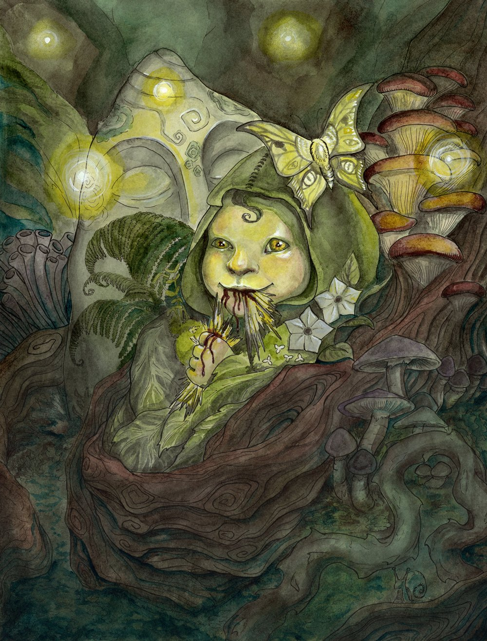 - ChangelingGame art for the Olde Fae card gamePublisher: The Changeling Artist Collective