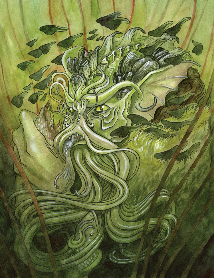 - SwampedGame art for the Olde Fae card gamePublisher: The Changeling Artist Collective