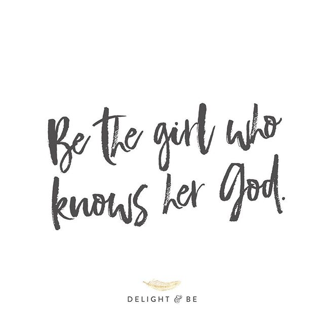 Allowing your identity to be rooted in Christ will change your life. ✨ . . #delightandbe www.delightandbe.com