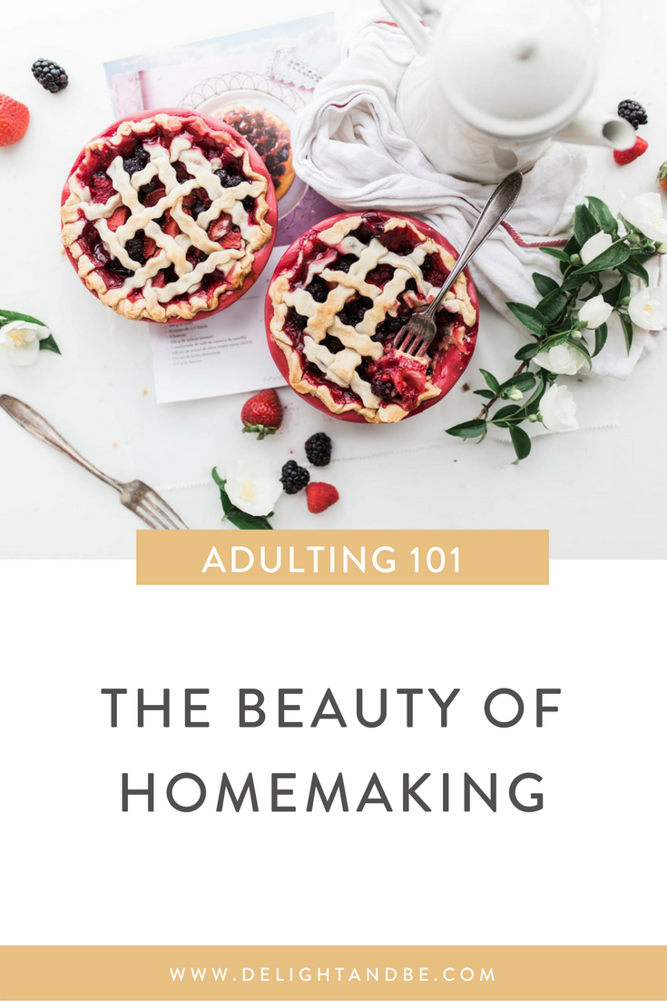 Adulting 101: figuring out this homemaking thing