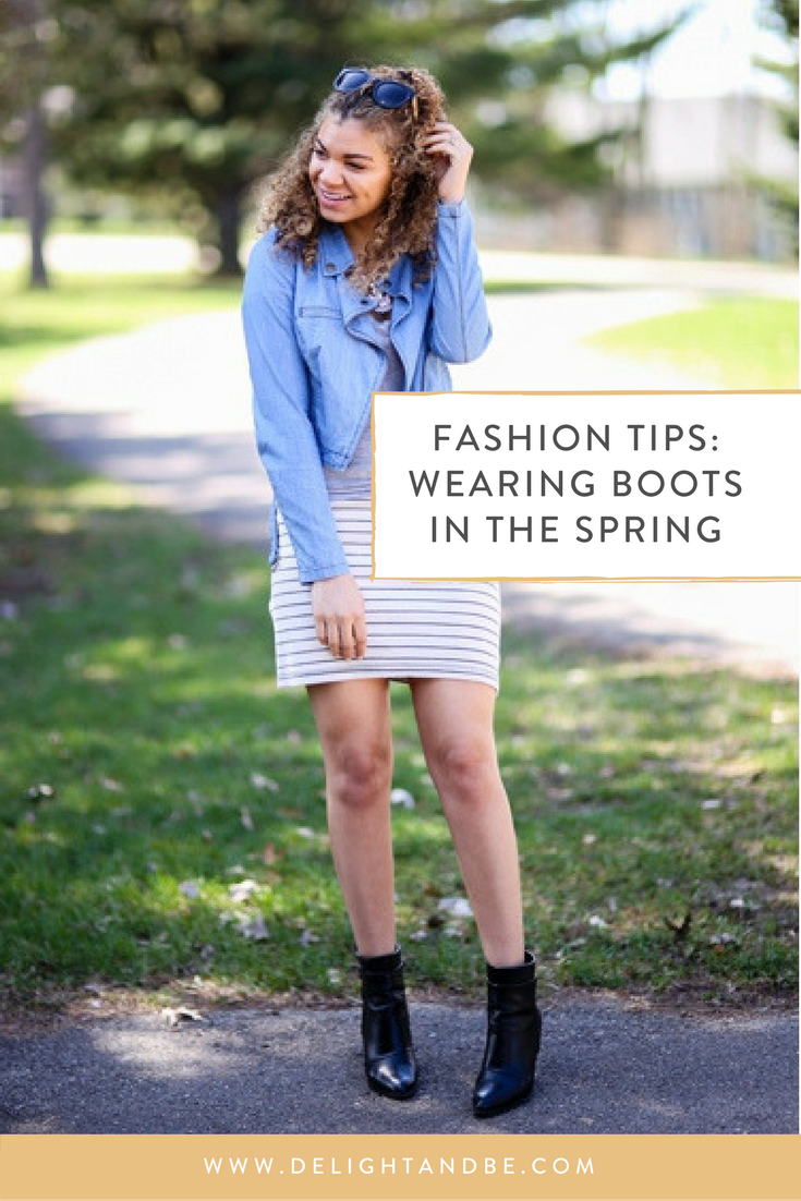 Spring Fashion Tips: Can You Wear Boots in the Spring?