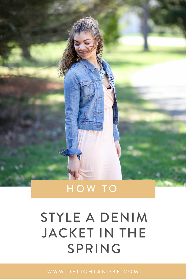Spring Fashion Tips: 5 Ways to Style a Denim Jacket