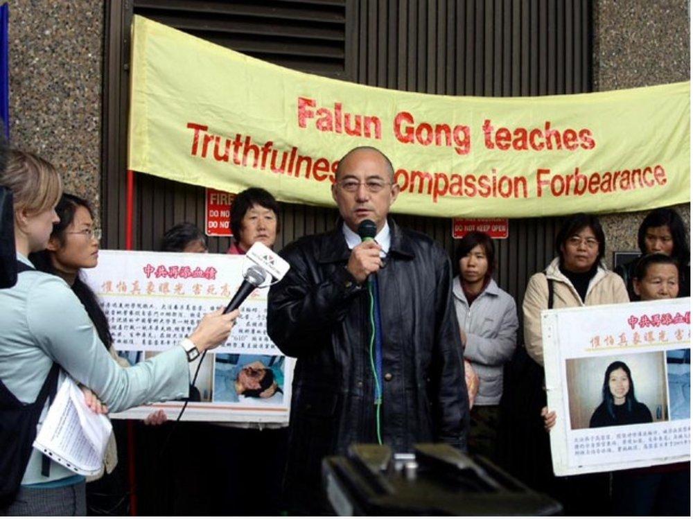 Former professor of law in China Mr. Yuan Hongbing