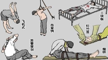 全球訴江(15) 第一章「史無前例」的前前后后 百种酷刑一覽