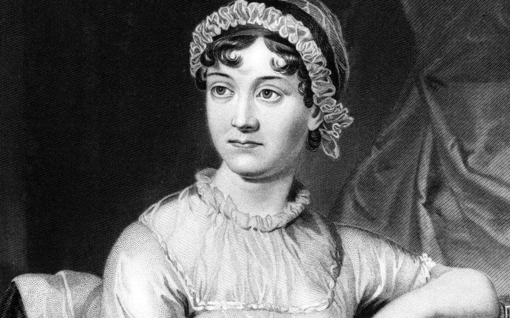 英國著名作家简·奥斯汀(Jane Austen)