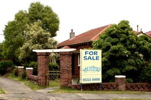 一套正在出售的house