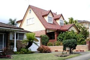 這是我最喜歡的紅磚頭房子。