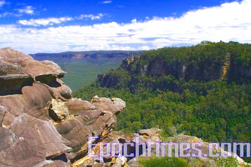 悉尼旅遊勝地藍山