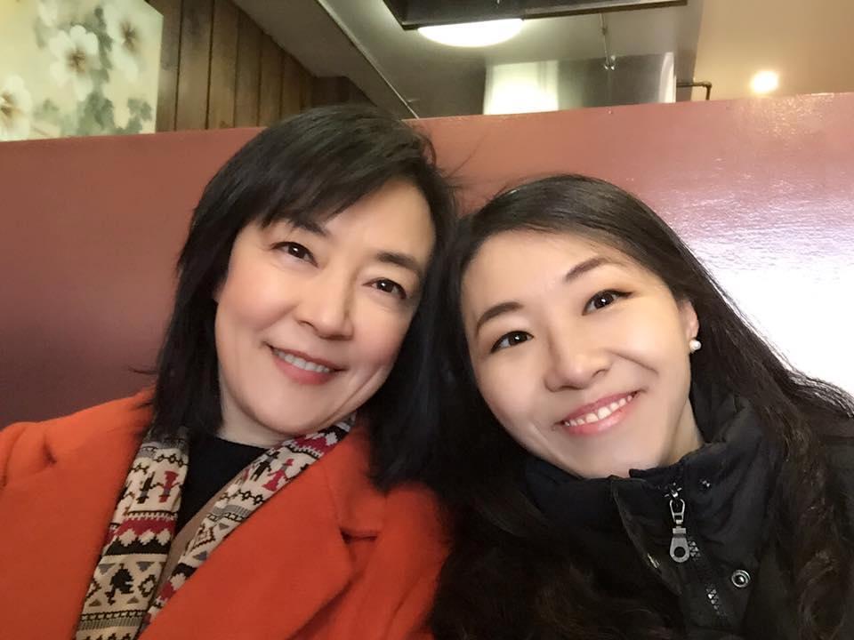 Ariel Tian and Jennifer Zeng 曾錚和雲坊創始人田甜