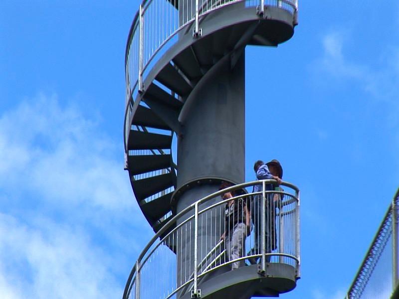 騎士塔的旋轉階梯。