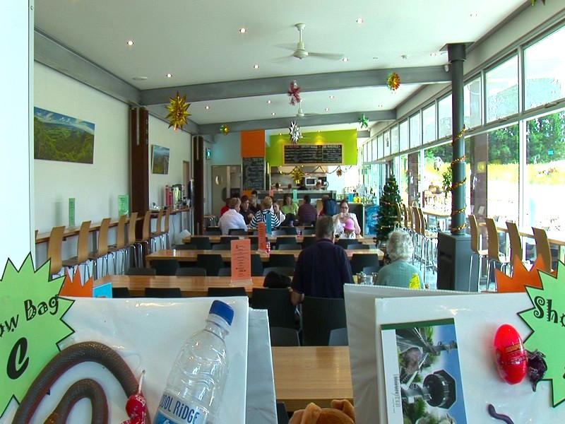 供遊人歇腳的咖啡廳。