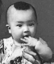 Jennifer as a baby 曾錚一歲時