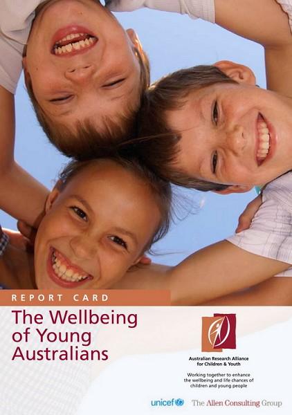 《澳洲青少年生活狀況》報告摘要封面