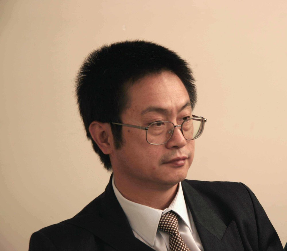趙遠明在宣判會上(大紀元記者安娜攝)