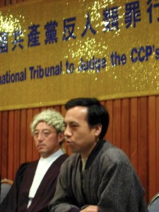 秦晉:「袁大法官坐在中國大地上再次審判共產黨的那一天不會遙遠」