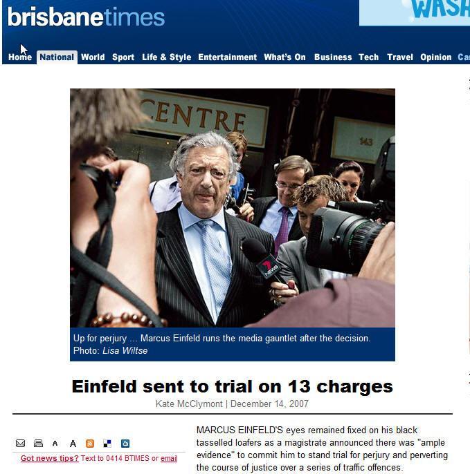 恩費爾得出庭後被媒體包圍