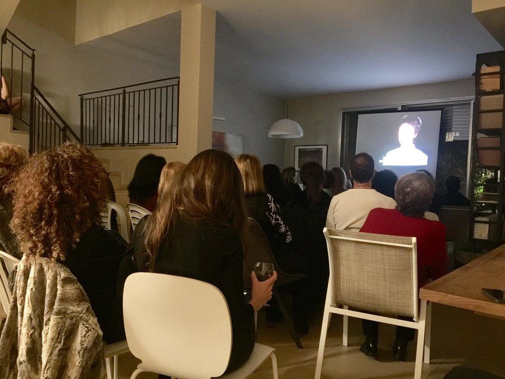 Free China screening in the city of Hud Hasharon in Israel, at  שירי מלכה  's home on on Feb 9, 2019.
