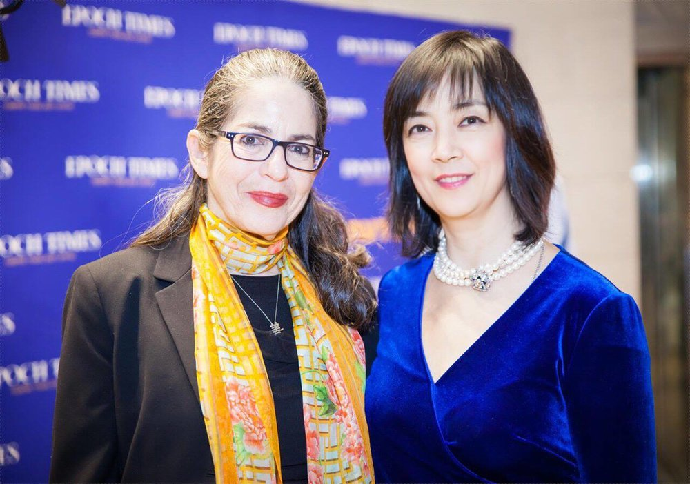 Jennifer Zeng at the Epoch Times event.